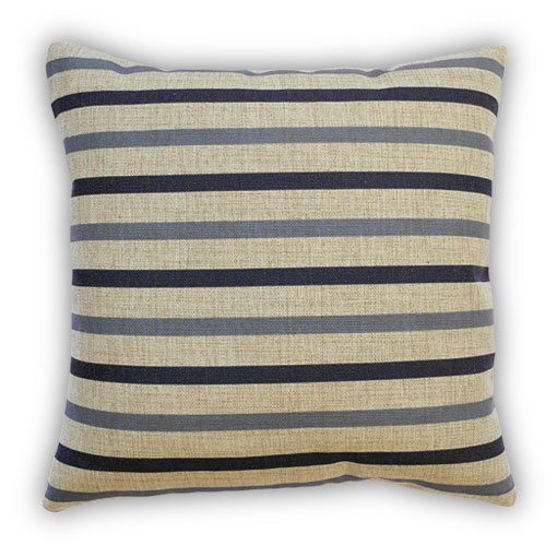 Thin Nordic Striped Cushion Front