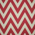 Red Chevron Cushion Cover 2