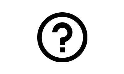 Icon for general questions question mark