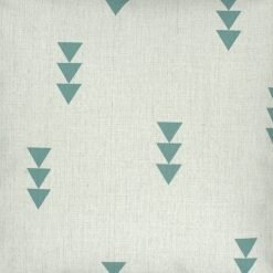 Close up of arrow cotton linen cushion cover