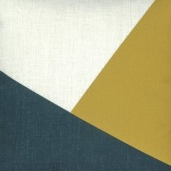 Close up of modern outdoor cotton linen cushion