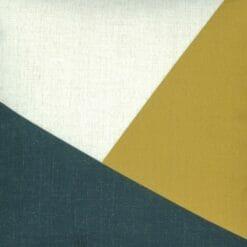 Close up of modern outdoor cotton linen cushion