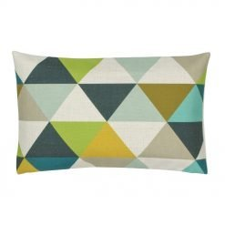 Vintage design rectangular linen cushion cover
