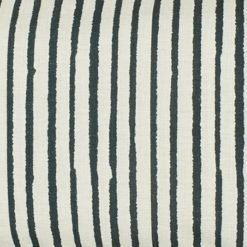 Close up of simple rectangular linen cushion cover