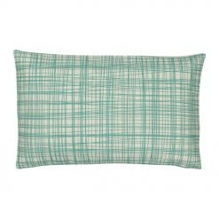 Rectangular Cushion Cover 30x50cm WIth Cross Pattern