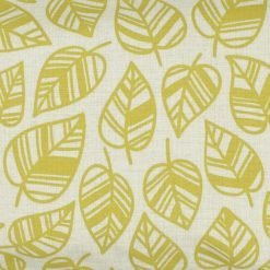 Closeup Image of Rectangular Cushion Cover 30x50cm With Leaf Pattern
