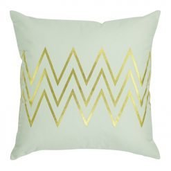 Square Cushion Cover 45x45cm With Gold Arrow Pattern