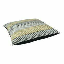 Large arrow designed floor velvet cushion