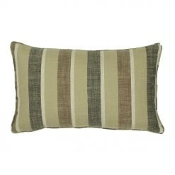 30x50cm chestnut stripe cotton linen cushion cover