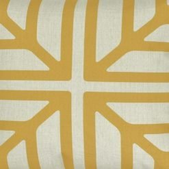 Closeup Image of Colour Gold Square Cushion Cover 45x45cm