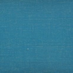Close up of rectangular cushion cotton linen cover in Egyptian blue