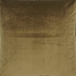 Close up of brown velvet cushion cover