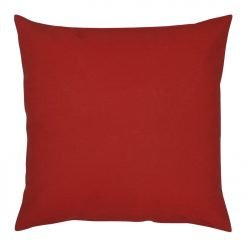 45x45cm red outdoor cushion cover