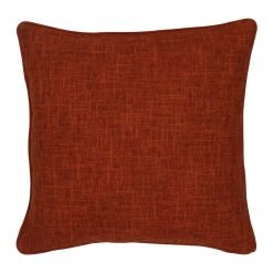 45x45cm cushion cover in orange colour