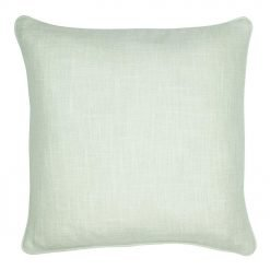 Photo of cream cushion cover in polyester fabric