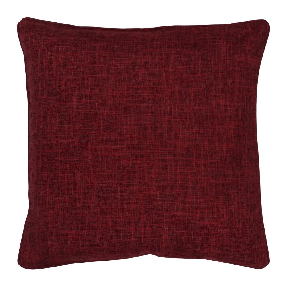 45x45cm dark red cushion cover