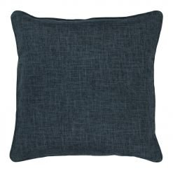 Cushion cover in grey blue colour and 45x45cm size