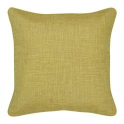 Square 45x45cm yellow cushion cover