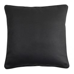 dark grey cushion in 45cmx45cm