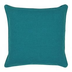 Cushion cover in ocean blue colour and 45x45cm size