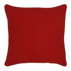 45x45cm red cushion cover