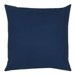 45x45cm outdoor cushion cover in navy blue colour