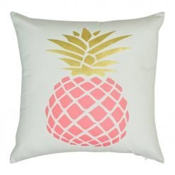 45x45cm pink pineapple cushion cover
