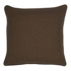 Photo of polyester chestnut cushion cover