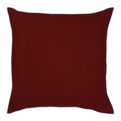 45x45cm outdoor cushion cover in maroon colour