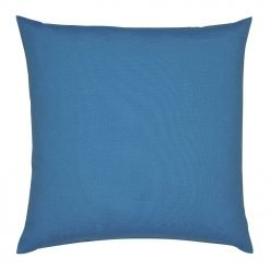 Photo of sky blue outdoor cushion cover