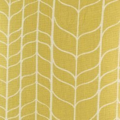 Close up of the gold cushion cover made from cotton linen (45cmx45cm)