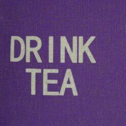Drink Tea Cushion Cover